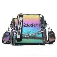 Laser Women Leather Handbag Shoulder Bag Winter Messenger Design Crossbody
