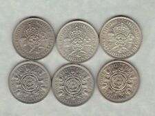 More details for six florins dated 1940 to 1966 in extremely fine or better condition