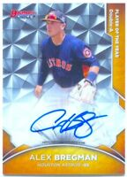 2016 Bowman's Best Bowman's Choice Alex Bregman Rookie Autograph RC AUTO 8/50!