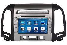 In-dash Car Radio DVD Player GPS Navigation For Hyundai Santa FE 2009-2012 +Maps