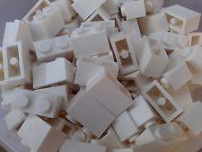 NEW LEGO - 50 x WHITE 1x2 BUILDING BRICKS 3004 - STAR WAR FRIENDS CITY POLICE