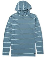 Billabong Die Cut Stripe Pullover Blue Hoodie Mens XL New