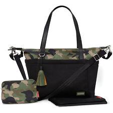 NEW SKIP HOP CAMO BLACK NOLITA NEO TOTE NAPPY CHANGING BAG & ACCESSORIES