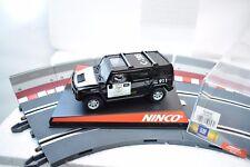 NINCO 50456 HUMMER H2 COUNTY SHERIFF  NO LIGHTS 1/32 SLOT CAR