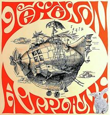 Jefferson Airplane Iron On Transfer For T-Shirt & Other Light Color Fabrics #4