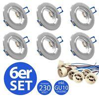 230V Gartenstrahler Boden Einbaustrahler rostfrei Bodo GU10 für Halogen und LED