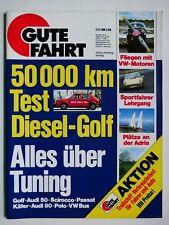 Gute Fahrt - 7/1977 mit Tuning-Spezial für Audi und VW, Golf-Diesel Dauertest