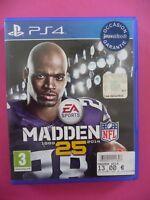 PS4 MADDEN 25 NFL PLAYSTATION