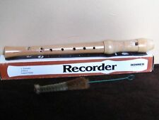 Hohner Recorder 2 piece Maple 9522 C Soprano 8 Holes Laquer finish