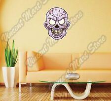 "Zombie Head Monster Dead Gift Wall Sticker Room Interior Decor 21""X25"""