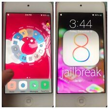 iOS 8 with CYDIA UNTETHERED Apple iPod touch 5th Generation PINK 32gb iPhone Mac