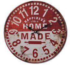 Wanduhr Küchenuhr Uhr Retro Design 40 cm HOME