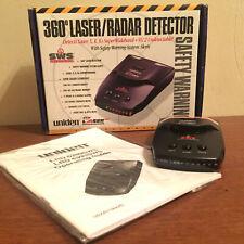 New** UNIDEN 360 Laser/ Radar Detector Super Wideband SWS LRD 6299SWS