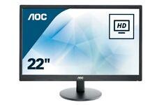 AOC E2270SWHN 21.5 inch LED Monitor - Full HD 1080p, 5ms Response, HDMI