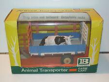 BRITAINS FARM No 9568 ANIMAL TRANSPORTER FARM CART w/ COW MIB VERY RARE