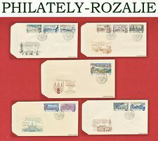 CZECHOSLOVAKIA FIRST DAY COVER - FDC 1961 Mi 1293/1314 STAMP EXHIBITION  (FC232)