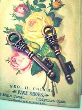 Bulk Skeleton Keys Key Charms Pendants Antiqued Copper Keepsake Box Keys 25pc