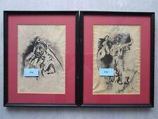 MORRIS GRAVES MEGA RARE 1932 Early Works Masterpiece Signed Originals!