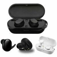 TWS Kabellos Bluetooth 5.0 Kopfhörer Stereo In-Ear Headset Ohrhörer mit Ladebox