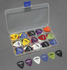 100pcs/Lot Alice Guitar Bass Picks Plectrums & Plastic Box Mixed Thickness US