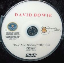 DAVID BOWIE DEAD MAN WALKING OFFICIAL Promo Music Video DVD Single (NOT a CD)