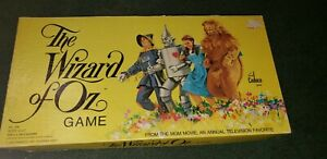 """VINTAGE 1974 """"WIZARD OF OZ"""" BOARD GAME CADACO STORYBOOK CLASSIC Complete"""