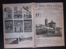 1897 EMPOLI Le Cento Città d'Italia Sonzogno Editore riccamente illustrato