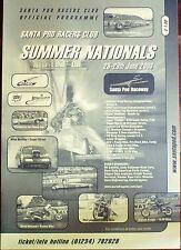 SANTA Pod. GIUGNO 2003 Estate cittadini. Drag Racing Programma di spedizione Regno Unito.
