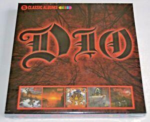 Dio ~ 5 Classic Albums ~ NEW 5 x CD ALBUM Box Set (sealed) 2017