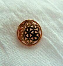 Blume des Lebens Flower of Life Ohrstecker 925 echt Silber Rosegold  OS 107