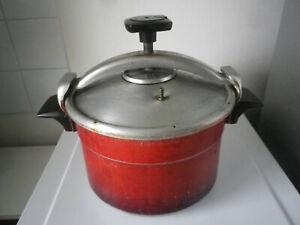 Vintage cocotte minute seb en alu 7 litres