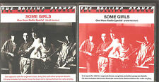 "ROLLING STONES ""Some Girls - One Hour Radio Special"" both Versions Radio Show CD"