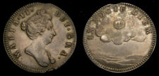 Great Britain c. 1689 Mary II Silver Medallic Token Ex Nocte Diem Good VF Rare