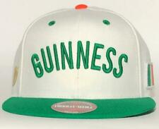 Guinness White Green Snapback Hat American Needle Licensed New Cap