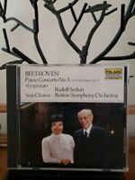 "Beethoven Piano Concerto no.5, op.73,""Emperor"", Serkin, Ozawa, Telarc Digital CD"