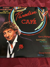 LP; Paradise Cafe; Barry Manilow; 1984 with Lyrics; S: F; R: EX