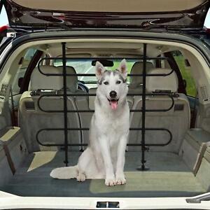 Universal Car Rear Pet Dog Barrier Guard 3 Bar Adjustable Wagon SUV Hatch 4WD