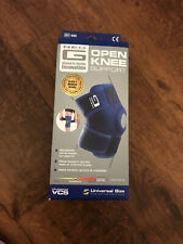 Neo-G Adjustable Compression One Size Knee Support Open Patella - Blue