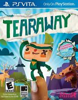 Tearaway PSVita NEW SEALED PlayStation Vita! FREE SHIPPING
