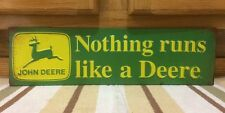 John Deere Sign Collectibles  Advertising  Agriculture John Deere Signs New