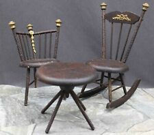 FRENCH  SET  OF  DOLL  FURNITURE
