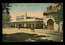 Algeria BLIDA Vegetable Market 1943 PPC FPO 285