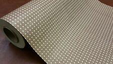 Half ream 26 inch wide Kraft Wicker Pattern gift wrap 417 feet