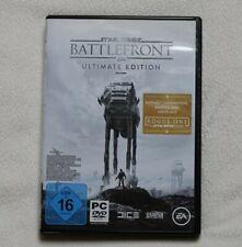 Star Wars: Battlefront - Ultimate Edition (PC, 2016, 4 DVD-Rom Box) wie Neu
