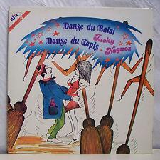 "2 x 33 tours JACKY NOGUEZ Disques LP 12"" DANSE DU BALAI TAPIS -AFA 5019 NM RARE"