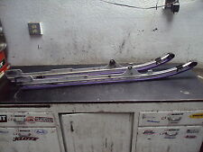 1997 97 SKI DOO ROTAX 670 SNOWMOBILE RAILS RAIL RUNNERS SUSPENSION RUNNER