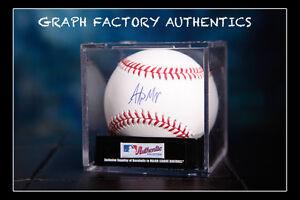 GFA Los Angeles Angels ALEX MEYER Signed MLB Baseball A1 COA