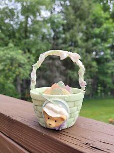 1995 Cherished Teddies Easter  A Basket Full of Spring # 156523