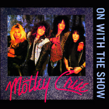 "Album Covers - Motley Crue - On With The Show (1980) Album Cover Poster 24""x 24"""