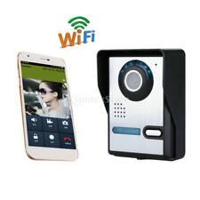 Wifi Caméra Sonette Sans Fil Intercom Vidéo Caméscope Télécommande Prise EU
